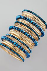 Cara Accessories 24 Piece Bangle Set  - Lyst
