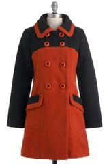 ModCloth Ivy League Reunion Coat - Lyst