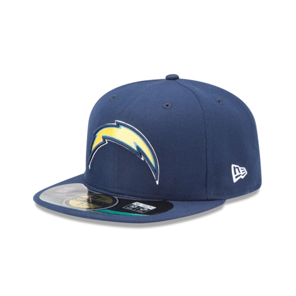 San Diego Chargers Fitted Hats: New Era San Diego Chargers Onfield 59fifty Fitted Cap In