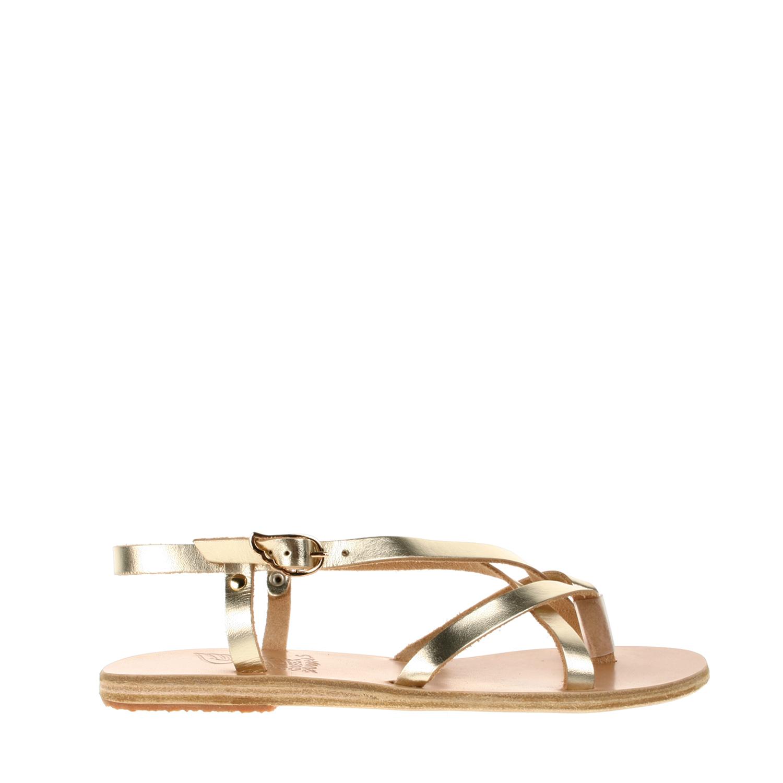 Ancient Greek Sandals Handmade Semele Sandals In Gold Lyst