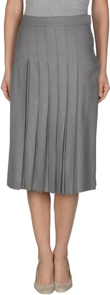 Chloé Mid- Length Skirt - Lyst
