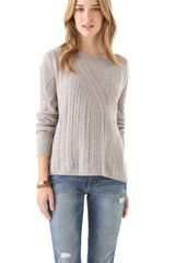 Inhabit Cables Links Crewneck Sweater - Lyst