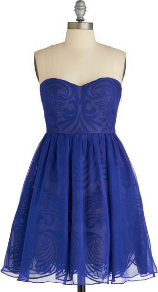 ModCloth Syzygy Golly Dress - Lyst