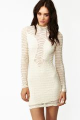 Nasty Gal Solitaire Lace Dress - Lyst