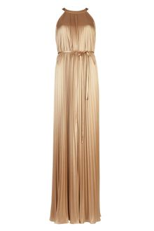 Ted Baker Callen Pleated Maxi Dress - Lyst