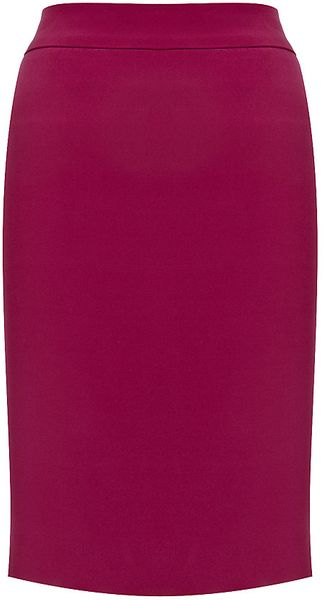 Armani Pencil Skirt - Lyst