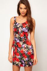 ASOS Collection Asos Tulip Dress in Floral Print - Lyst