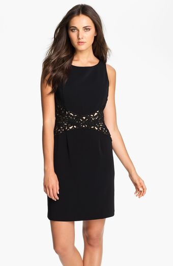 Donna Ricco Sleeveless Sheath Dress - Lyst
