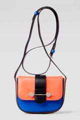 Jason Wu Daphne Mini Colorblock Crossbody Bag Orangeblue - Lyst