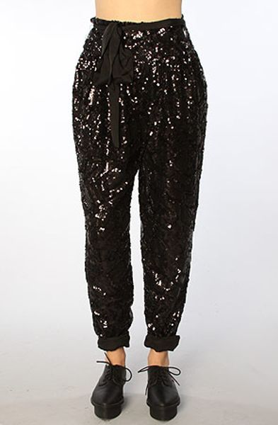 Get free shipping on Marc Jacobs Holographic Daisy Sequin Harem Pants at Neiman Marcus. Shop the latest luxury fashions from top designers.