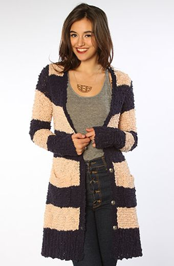Free People The Cuddle Bear Cardigan - Lyst