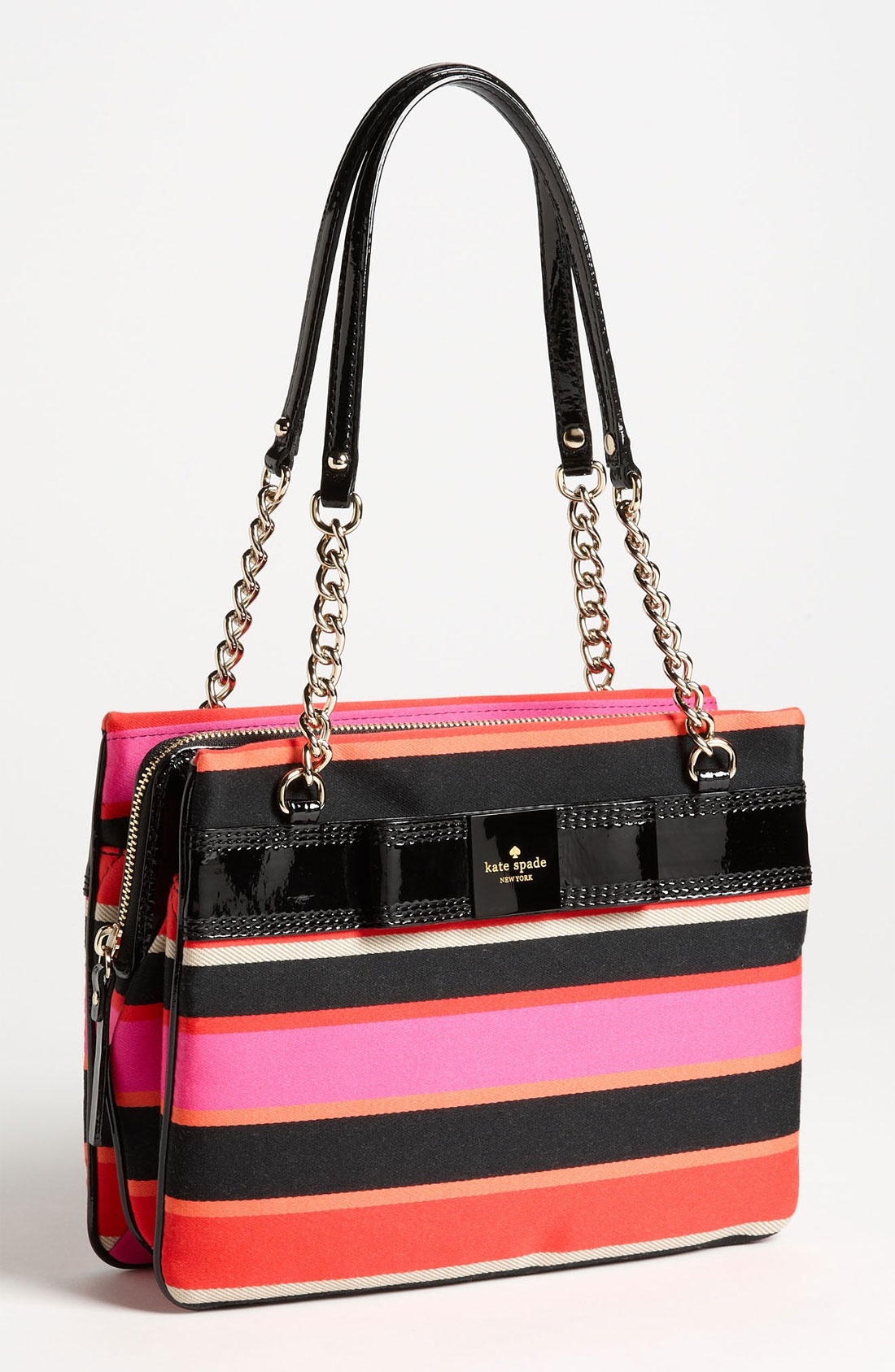 Kate Spade New York Zip Darcy Patent Leather Shoulder Bag 53