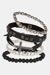 Topman Multipack Bracelets Set Of 5 - Lyst