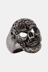 Topman Day Of The Dead Skull Ring - Lyst