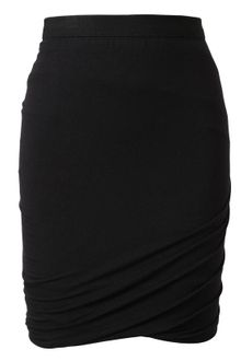 T By Alexander Wang Draped Stretch Jersey Miniskirt - Lyst