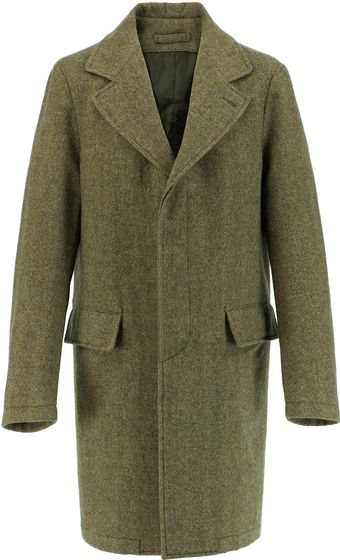 Aspesi New Antirovo Wool Coat - Lyst