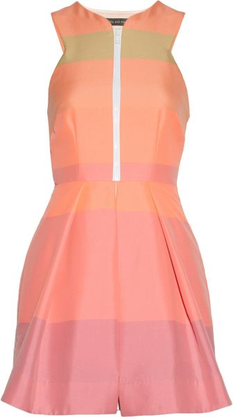 Camilla & Marc Striped Cottonblend Dress in Pink (multicolored) - Lyst