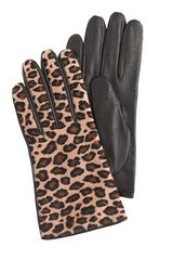 J.Crew Calf Hair Gloves - Lyst