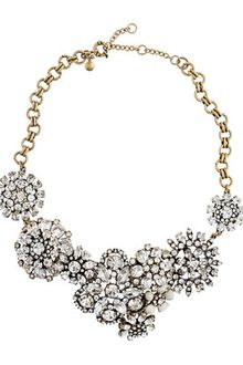 J.Crew Flower Lattice Necklace - Lyst