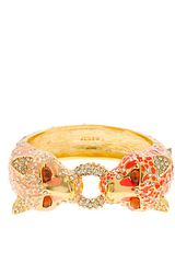 J.Crew Enameled Leopard Bangle - Lyst