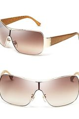 Michael Kors Michael Rae Shield Sunglasses - Lyst