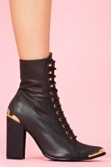 Nasty Gal Antonio Boot - Lyst