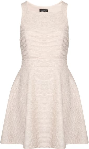 Topshop Open Back Flippy Tunic - Lyst