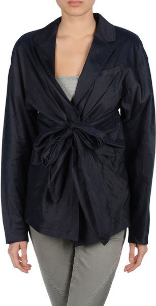 Donna Karan New York Fulllength Jacket - Lyst