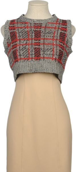 Opening Ceremony Sleeveless Jumper - Lyst