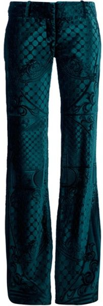 Balmain Filigree Embossed Trouser - Lyst