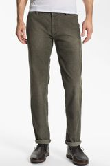Boss Orange Slim Fit Corduroy Pants - Lyst
