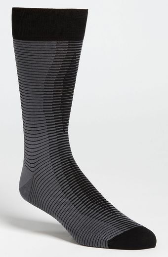 Bugatchi Uomo Stripe Socks 3 For 4950 - Lyst