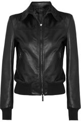 Calvin Klein Lamas Leather Jacket - Lyst