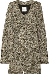 Emanuel Ungaro Metallic Tweed Jacket - Lyst