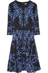 Erdem Lily Printed Silk Crepe Dress - Lyst