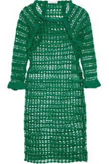 Etoile Isabel Marant Calice Crochet-Knit Cotton Dress - Lyst
