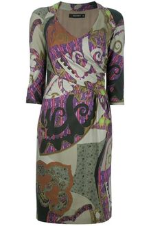 Etro Floral and Paisley Print Dress - Lyst
