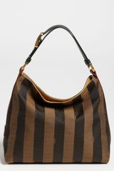 Fendi Pequin Small Hobo - Lyst