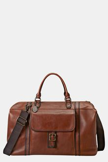 Fossil Estate Framed Leather Duffel - Lyst