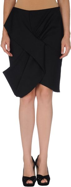 Givenchy Knee Length Skirt - Lyst