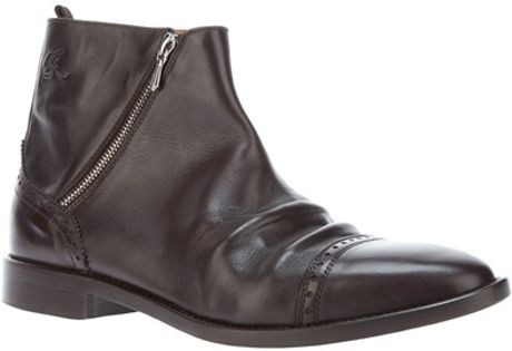 golden goose deluxe brand shoe stage boot in brown for