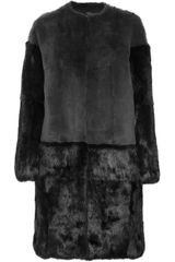 Joseph Clallas Rabbit Coat - Lyst