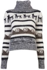 Joseph Roll Neck Sweater - Lyst