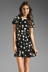 Juicy Couture Sequin Polkadot Dress - Lyst