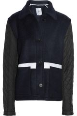 J.W. Anderson Woolfelt and Quilted Jacket - Lyst