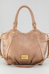 Marc By Marc Jacobs Classic Q Francesca Satchel Bag Praline - Lyst