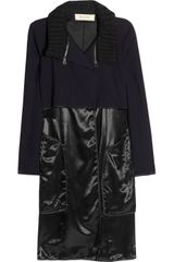 Marni Wooltwill and Satin Coat - Lyst