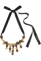 Marni Beaded Necklace - Lyst