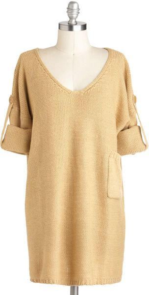 ModCloth Chai Tea Sweater - Lyst