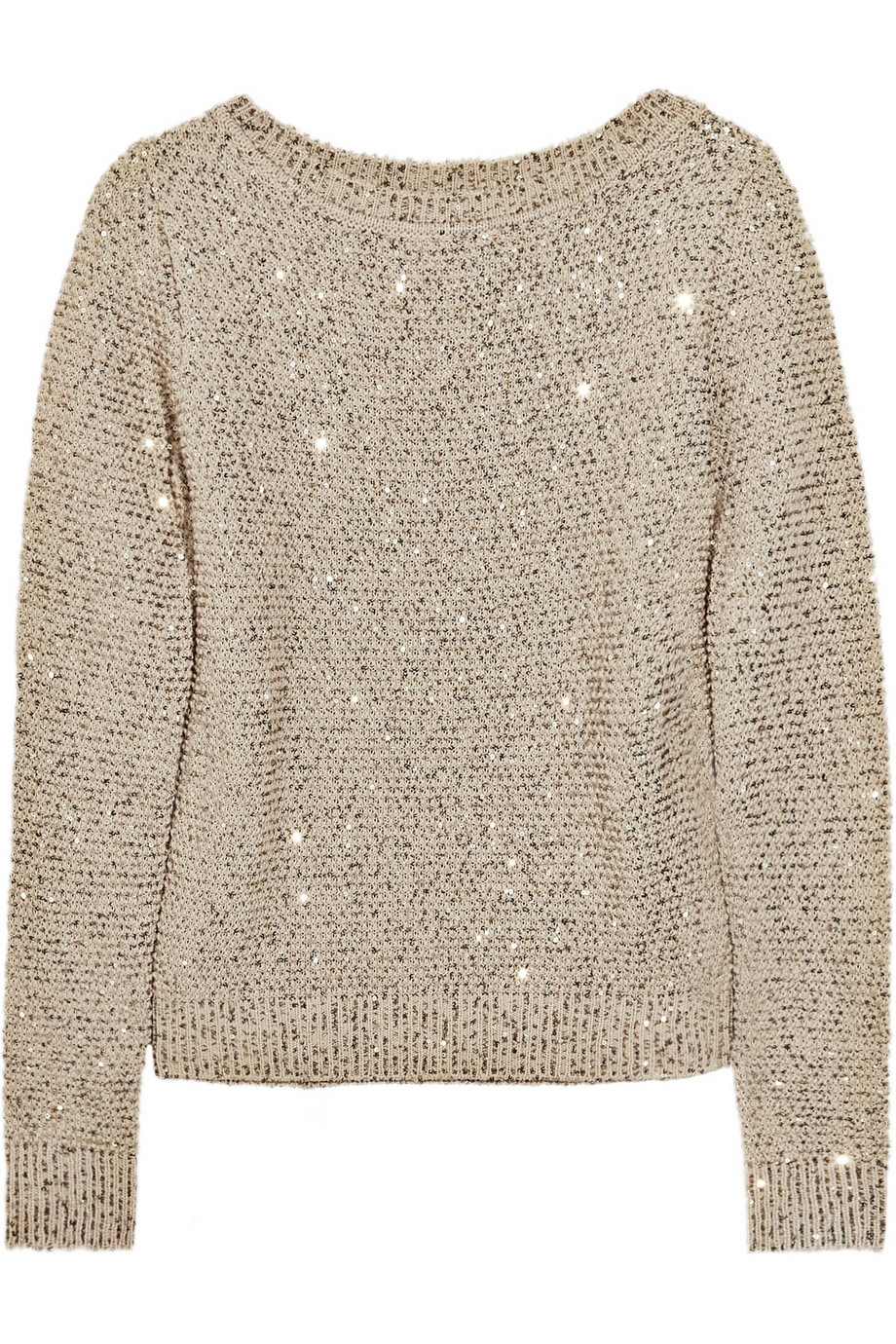 Sequin Sleeve Sweater